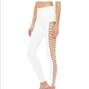 Aloyoga lace up legging